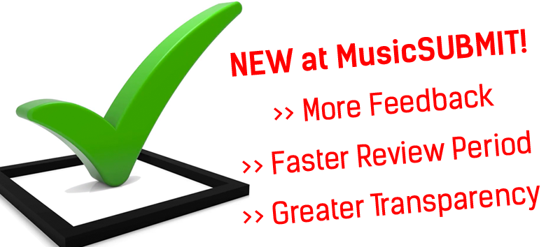 3 New Features in MusicSUBMIT