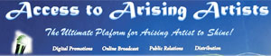 Access to Arising Artists logo
